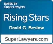 Rated By Super Lawyers Rising Stars David G. Beslow