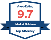 Avvo Rating 9.7 | Mark A Goldman | Top Attorney